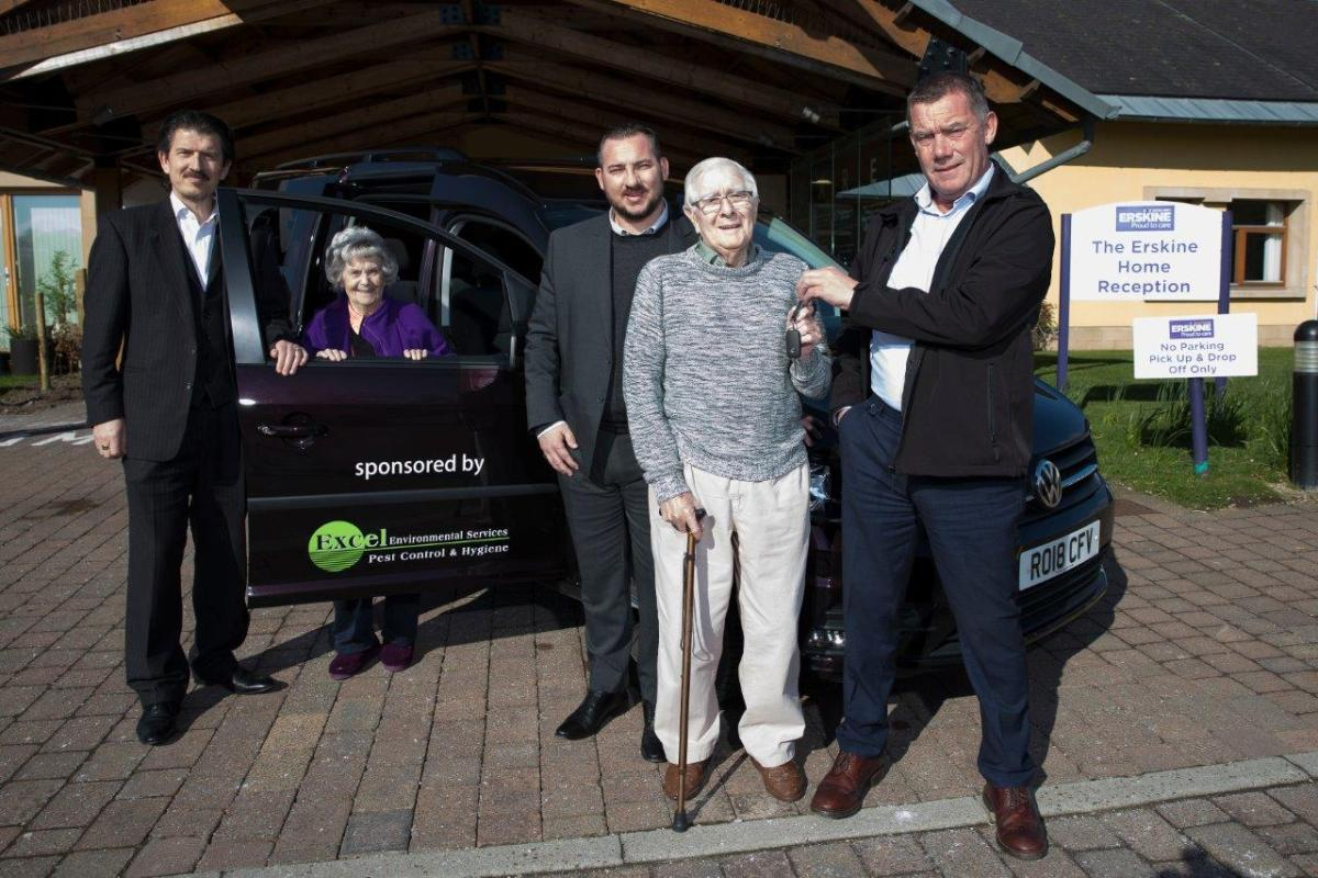 Excel Environmental Donate Vehicle for Erskine Veterans